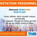 UN AFTER WORK CHEZ CHUBB DELTA POUR SUPPORTER L
